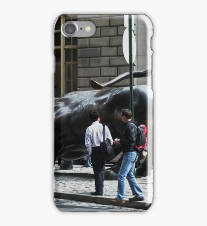 Charging Bull of Wall Street New York iPhone Case/Skin