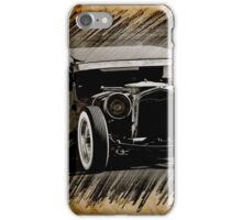Rat Rod Sedan Sketch 3 iPhone Case/Skin
