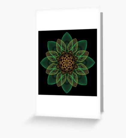 Holiday Cheer Floral Design I Greeting Card