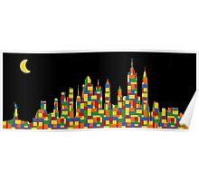 New York Skyline 3 Poster