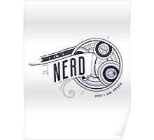 I Am A Nerd Poster