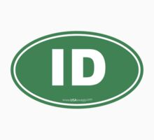 Idaho ID Euro Oval GREEN by USAswagg