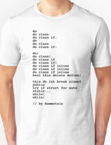 By rammstein T-Shirt