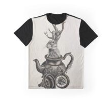 Art Of Alice in wonderland Graphic T-Shirt