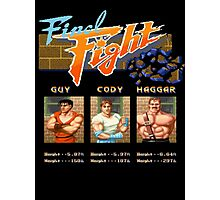 Final Fight Photographic Print