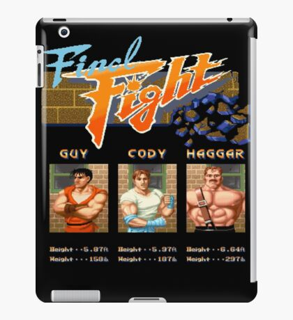 Final Fight iPad Case/Skin
