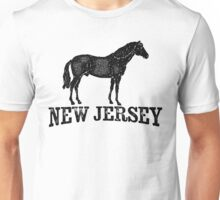 New Jersey T-shirt - Horse Unisex T-Shirt