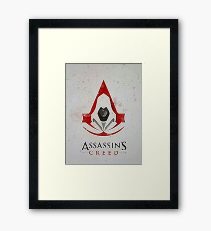 Art of Assassin's creed Framed Print