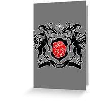 Coat of Arms - Ranger Greeting Card