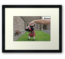 Under the Thumb Framed Print
