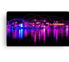Dancing Lights two Canvas Print