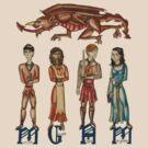 Medieval Merlin by Zoe Kierce