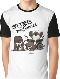 OTTERS OF DEATHMETAL v.2 Graphic T-Shirt