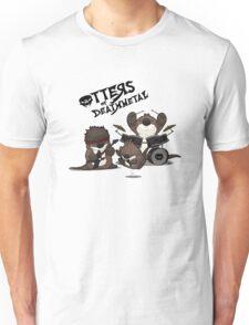OTTERS OF DEATHMETAL v.2 Unisex T-Shirt