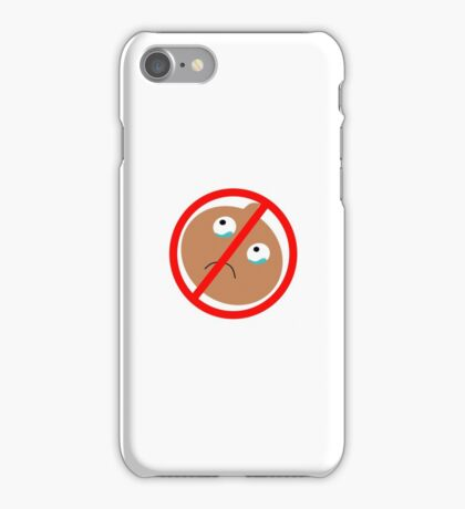 No Onions Allowed iPhone Case/Skin