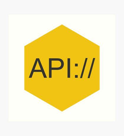 API Art Print