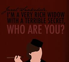 A Very Rich Widow With A Terrible Secret by afieldofstone