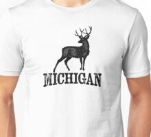 Michigan T-shirt - Stag Deer Unisex T-Shirt