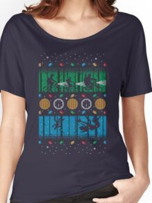 Upside Down Christmas Women's Relaxed Fit T-Shirt