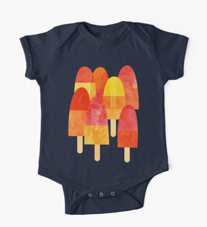 Ice Lollies One Piece - Short Sleeve