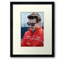 Jules Bianchi 2013 Framed Print