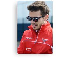 Jules Bianchi 2013 Canvas Print