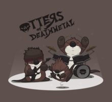 OTTERS OF DEATHMETAL v.1 Baby Tee
