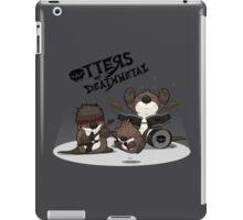 OTTERS OF DEATHMETAL v.1 iPad Case/Skin