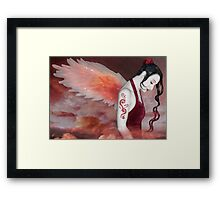 Earthbound Angel - Self Portrait Framed Print