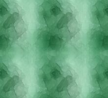 Emerald Green Watercolors by Vickie Emms