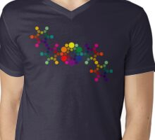 Color Wheel DNA Mens V-Neck T-Shirt