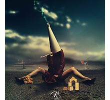 Conceptual Artowrk, woman and toys Photographic Print