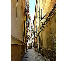 An Alley In Palma..................................Majorca Photographic Print