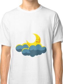 Moon and Clouds Classic T-Shirt