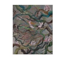 Twisted Cherry Blossom Branches Gallery Board