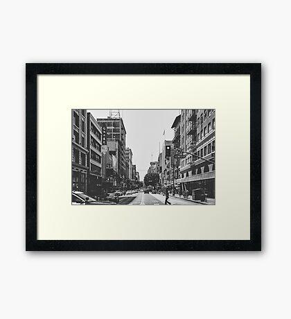 Downtown LA Framed Print