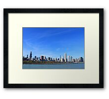 The Chicago Skyline Framed Print