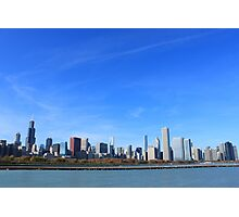 The Chicago Skyline Photographic Print