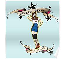 Sailor Jerry Roller Girl #1 Poster