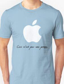 Ceci n'est pas une pomme. T-Shirt