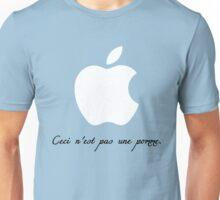 Ceci n'est pas une pomme. Unisex T-Shirt