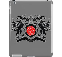 Coat of Arms - Paladin iPad Case/Skin