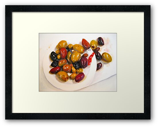 Salty not Sweet...A Still Life Painting... by ©Janis Zroback