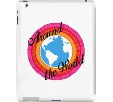 Around The World (Light Background) iPad Case/Skin