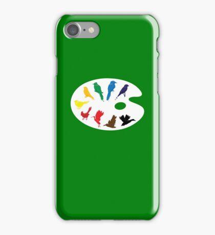 Bird Palette iPhone Case/Skin