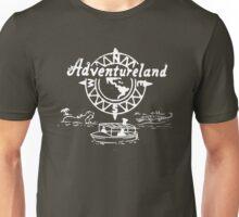 Vintage Stamped Adventureland white Unisex T-Shirt
