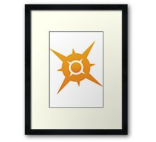 Pokemon Sun Framed Print