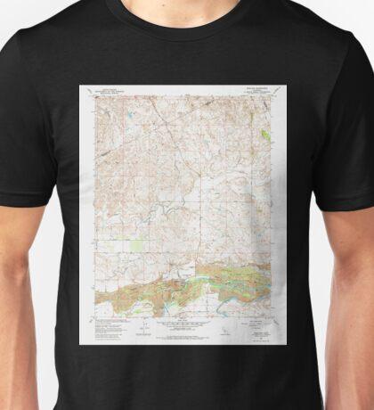 USGS TOPO Map California CA Snelling 101139 1962 24000 geo Unisex T-Shirt