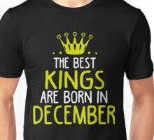 Kings are born in December shirt Unisex T-Shirt