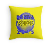 BONNAROO 2015 - See you on the farm! Throw Pillow